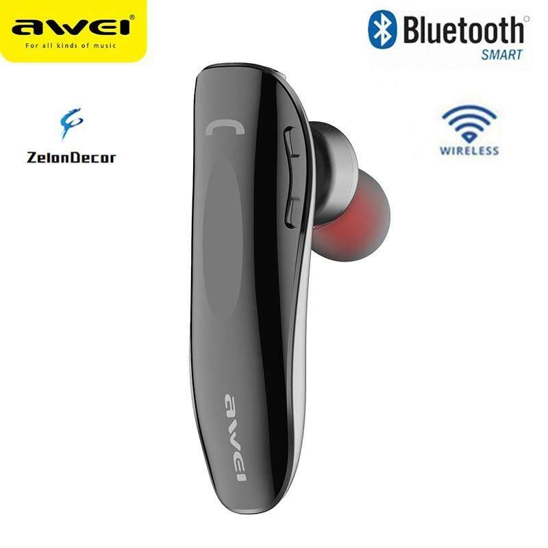 Zelondecor Penjualan Terlaris Awei N1 Bluetooth Earphone Headphone Nirkabel Cordless Mini Bisnis Headset Portabel In-