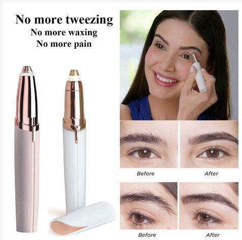 Flawless Brows Women Painless Face Eyebrows Hair Remover