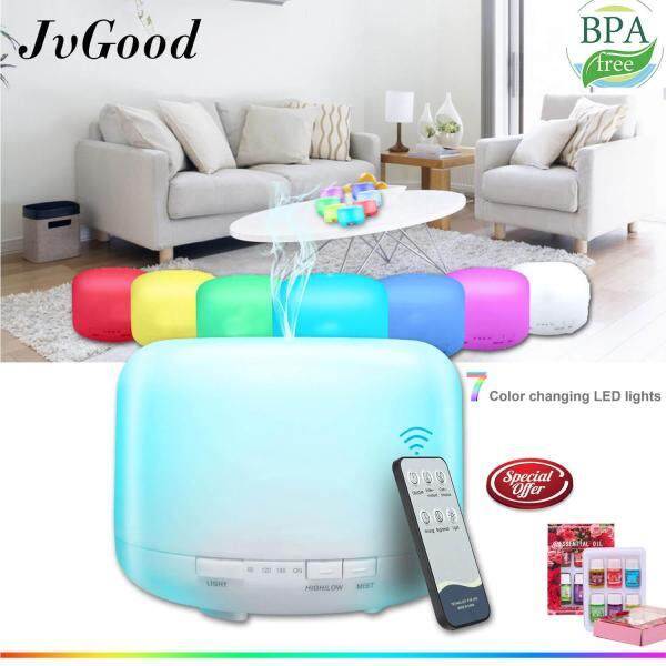 Bảng giá JvGood Air Humidifiers Ultrasonic Aroma Diffusers Purifiers Cool Mist Humidifiers Essential Oil Diffusers Aromatherapy Diffusers Machines Air Purifiers Treatment Mist Maker with Remote Control Điện máy Pico