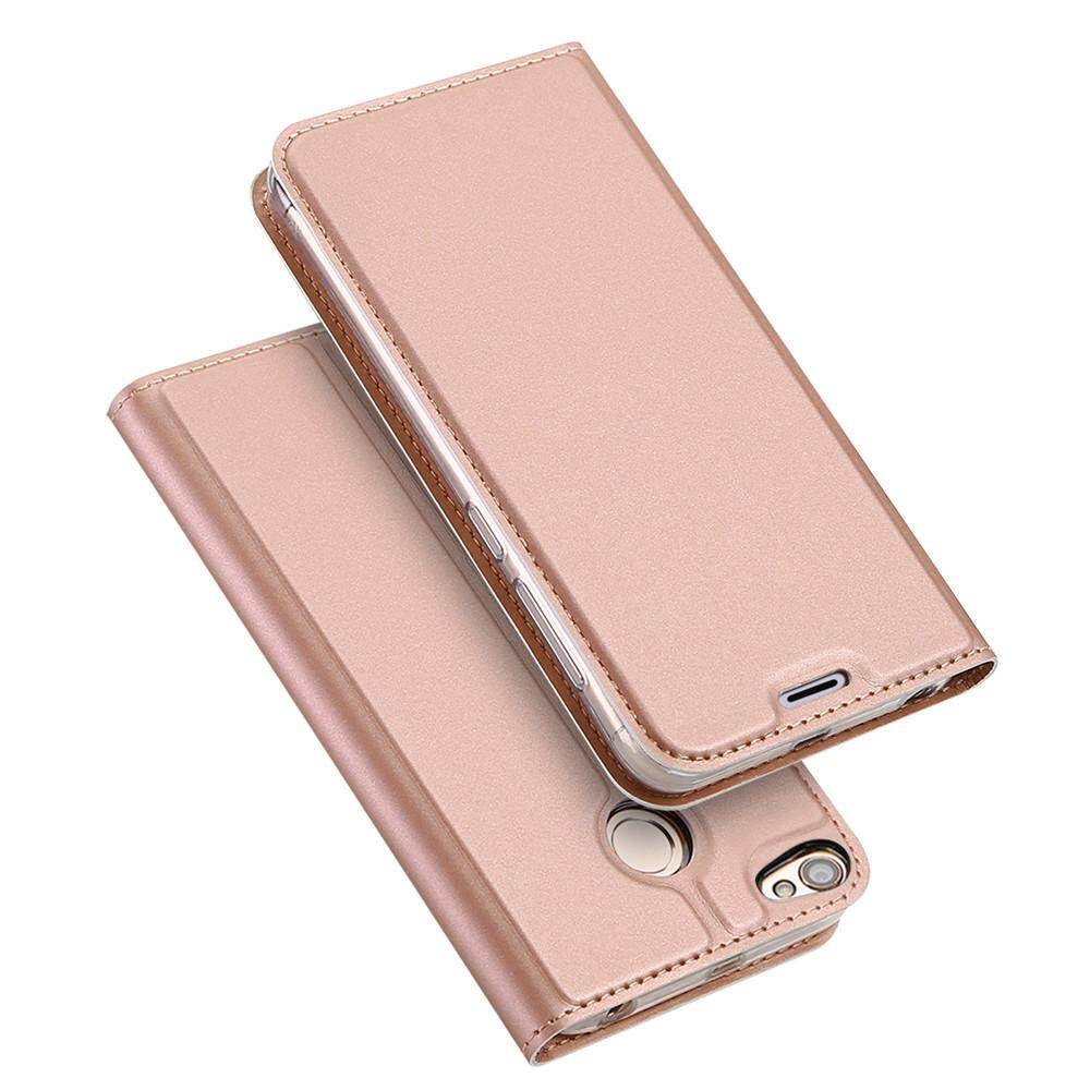 Features Phone Case For Luxury Flip Leather Slim Book Design Xiaomi Redmi 5a Gold Grey Tam Baru Magnetic Protective Stand Cover With Card