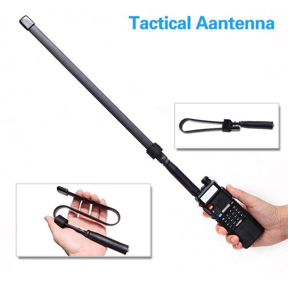 Antena Sma-Perempuan Dual Band Vhf Uhf 144/430 Mhz Untuk Baofeng Uv-5r/82 Gl By The One..