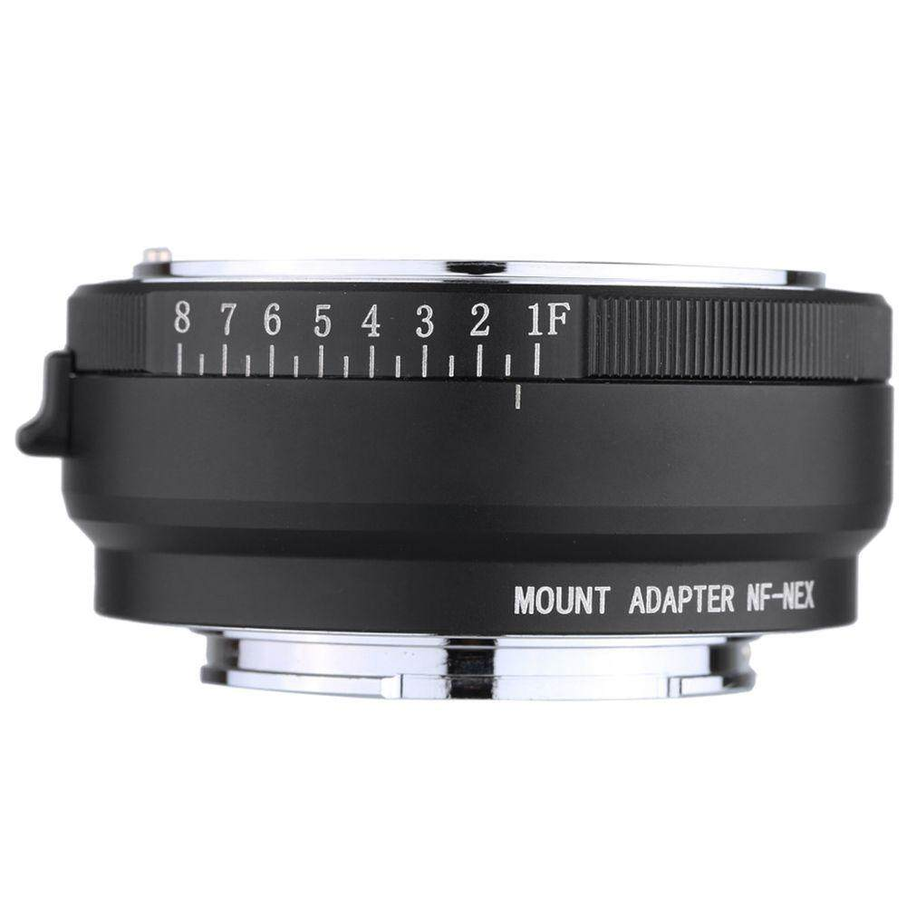 Lens Adapter Ring for Nikon G/DX/F/AI/S/D to Sony E NEX3 5 7 A7 A5000 A6000 Q5UX