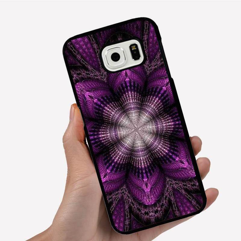 Phone Case For Samsung Galaxy S3 mini One Big Purple Elegant Flower Cartoon Image Pattern Plastic Anti-Knock Phonecase Cover