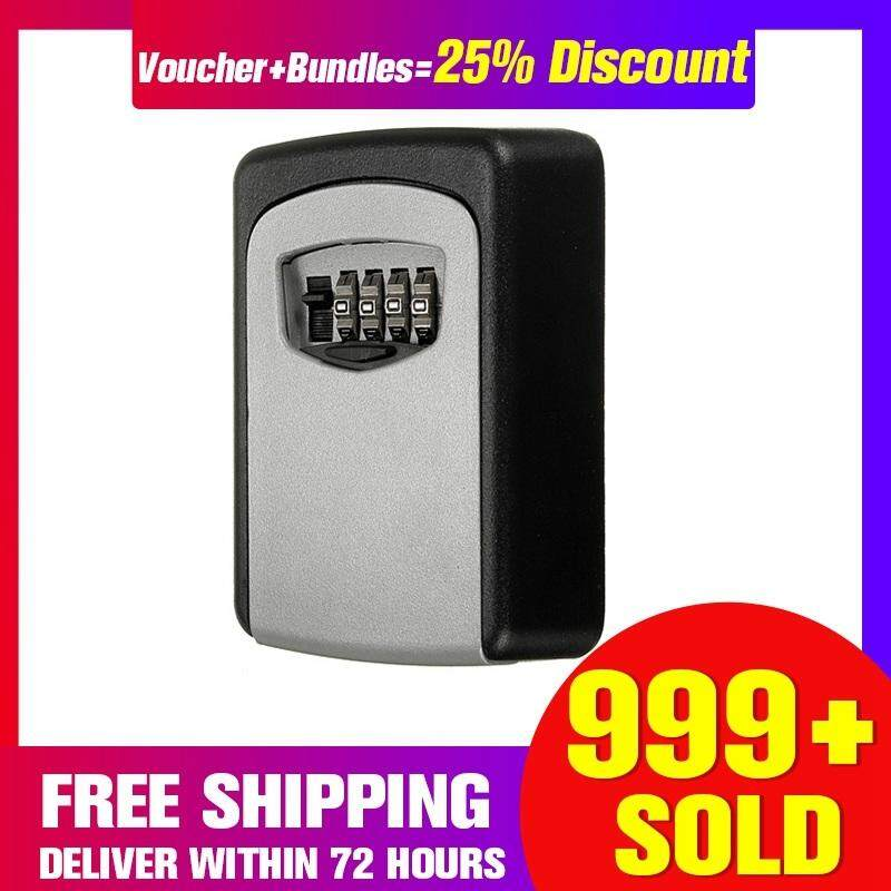 【 Free Shipping + Super Deal + Limited Offer】 Steel Wall Mount Key Box with Combination Lock Safe Storage Key Outside Security