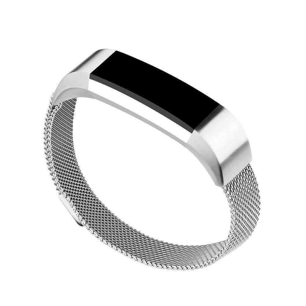 Kelebihan Milanese Loop Stainless Steel Watch Strap Band For Fitbit Alta Hr Smartwatch Small Black 4