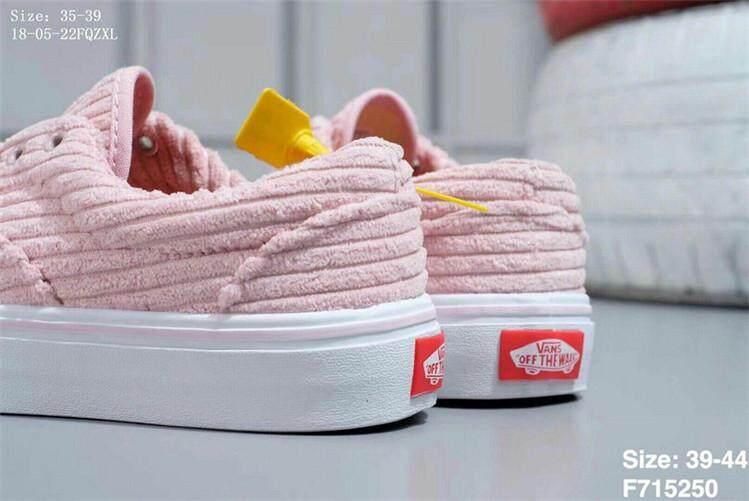 Vans Official Skate Shoes WOMEN Vans x Off-White Old Skool 36 Pink White  Global d80fae2d0