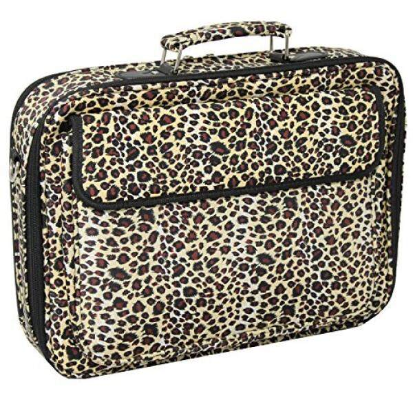 Laptop Messenger Bags World Traveler 17 Inch Laptop Computer Case, Leopard, One Size - intl