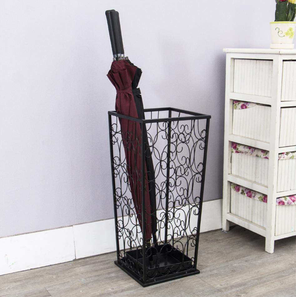 Wrought Iron Umbrella Stand Creative Storage Racks - intl