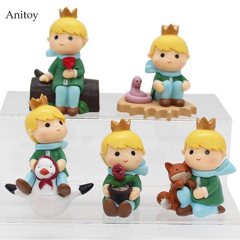 5pcs/set The Adventures of the Little Prince PVC Figure Collectible Toy 8cm KT4081