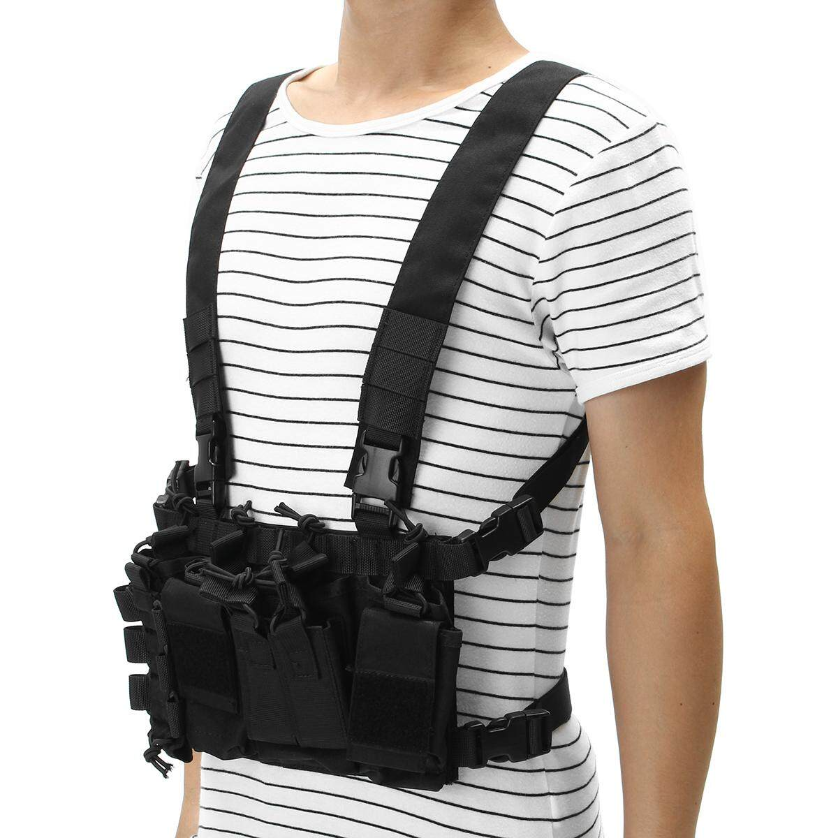 Dlp Tactical D3 Universal Chest Rig With 223 / 308 Pouches By Glimmer.