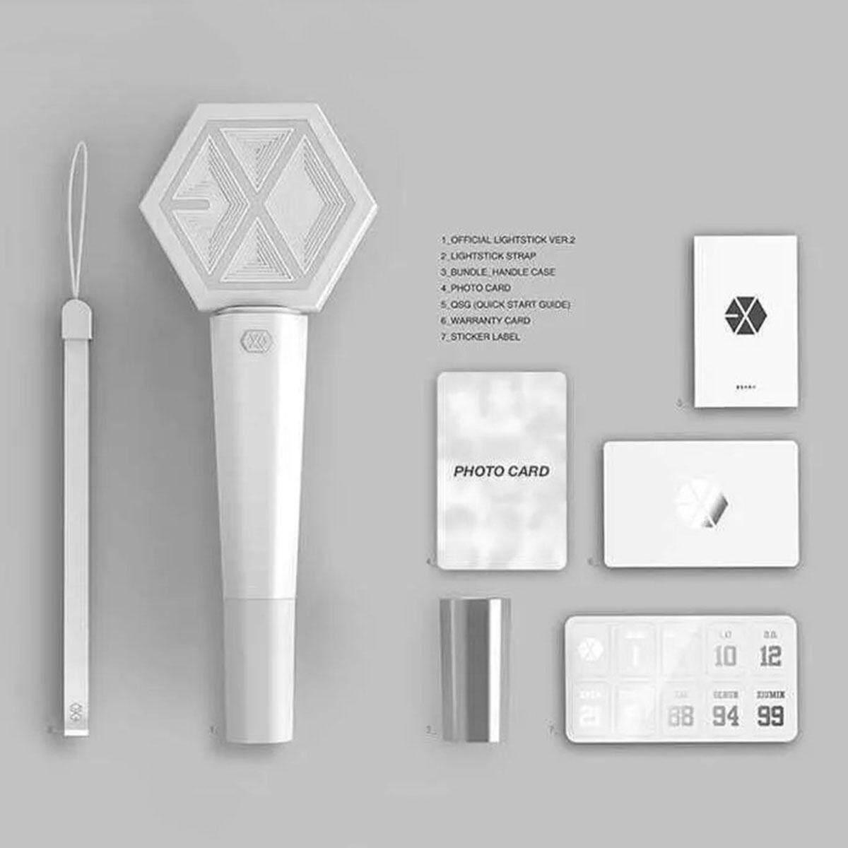 Kpop EXO Sehun Chanyeol Lay White Concert Light stick glow stick - intl