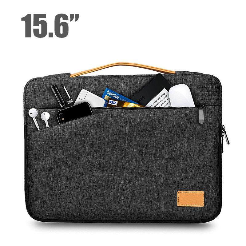 a21a86023e52 15.6Inch Laptop Bag Ultra-Slim Padded Laptop Sleeve Case Pouch Bag Computer  Pocket Tablet
