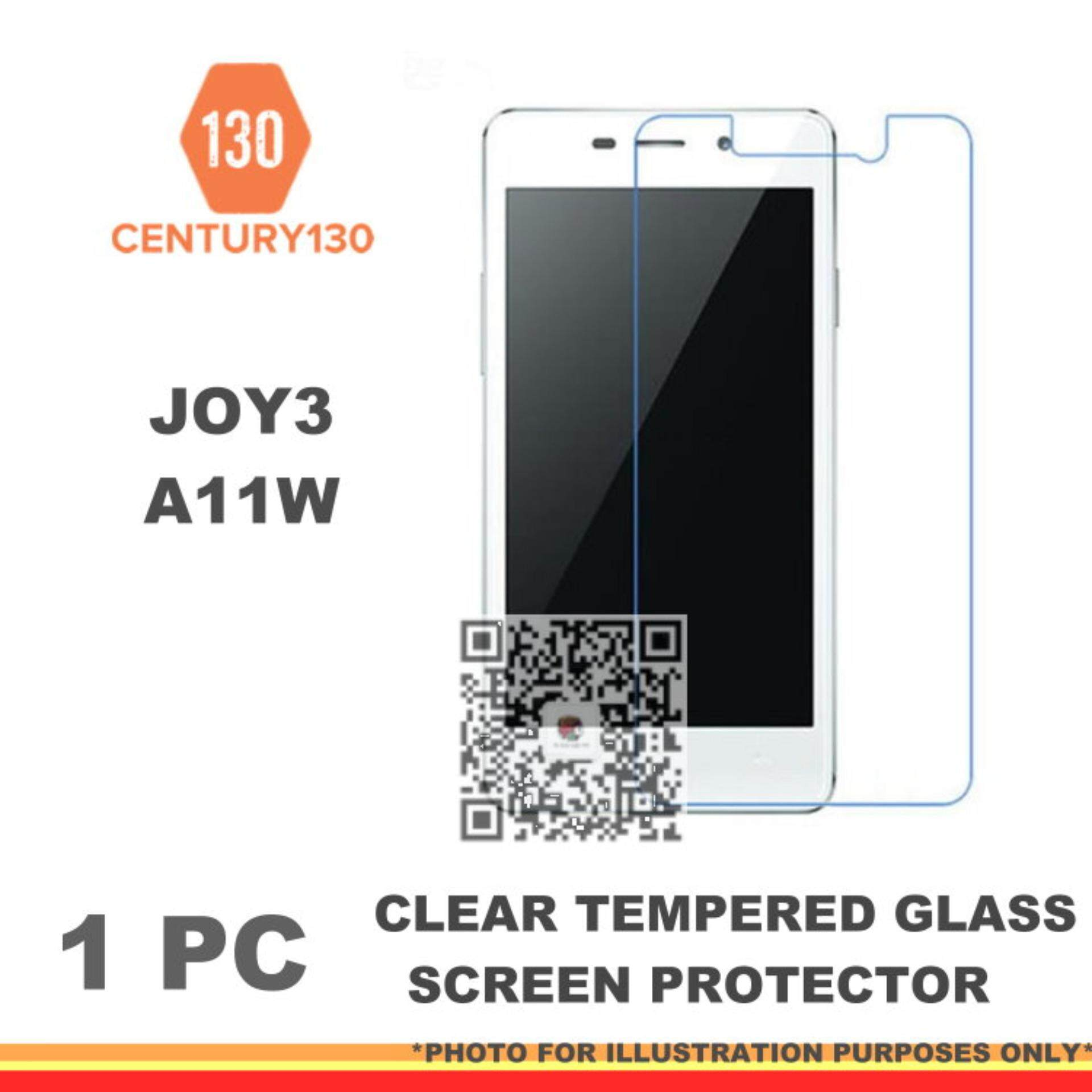 CENTURY130 Premium 9H 0.3mm 2.5d Tempered Glass Screen Protector Compatible For Oppo A11W /