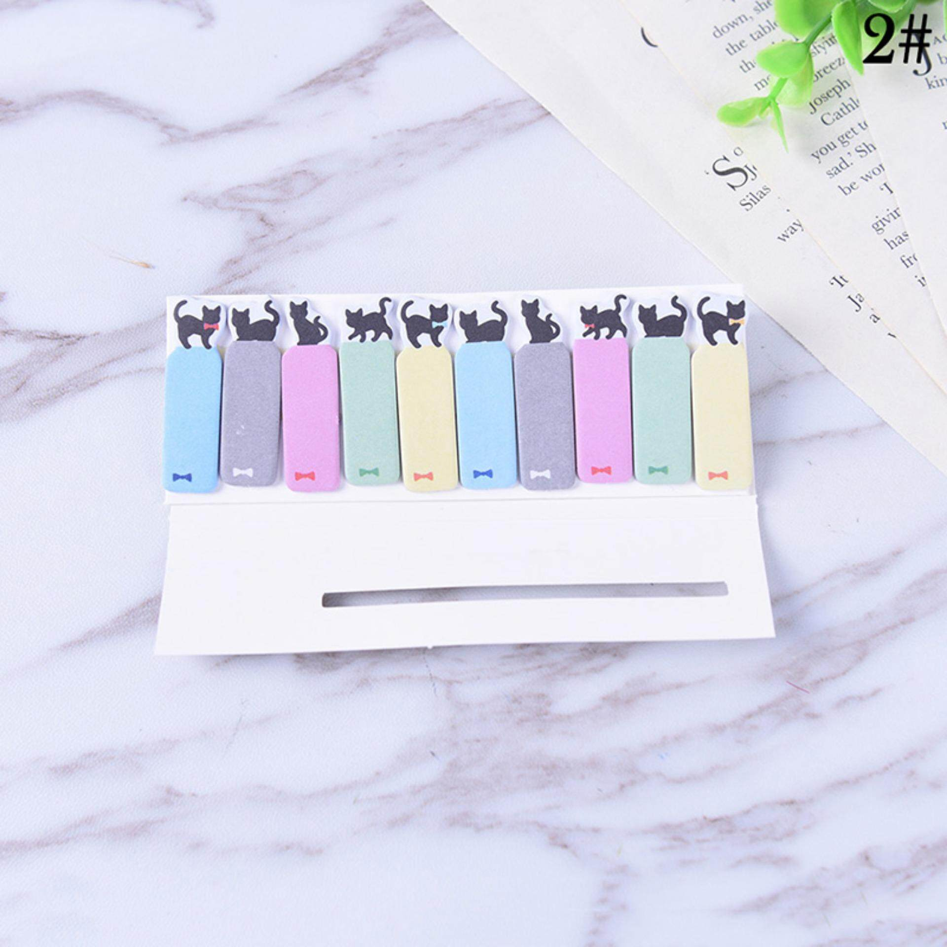 Mua Stationery Student Tool Cartoon Office Notes Supplies Cute Funny Cat Style Sticker  2#