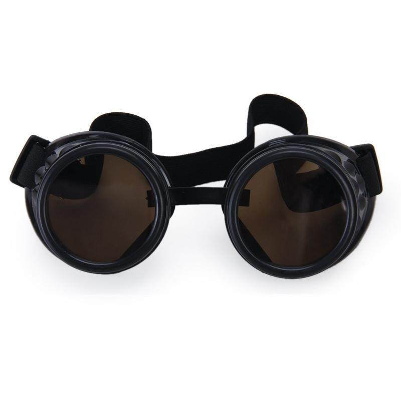 Vintage Rustic Cyber Steampunk Goggles Welding Goth Cosplay Photos