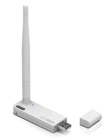 TOTOLINK N150UA 150Mbps Wireless N WiFi USB Adapter with High Gain External Antenna