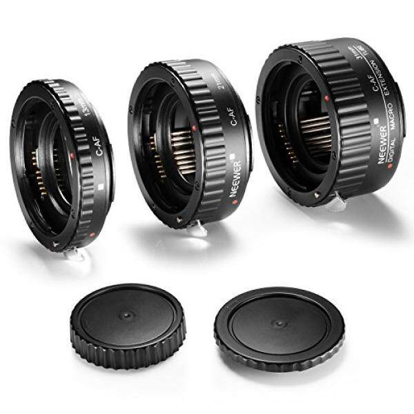 Neewer 13-21-31mm AF Auto Focus ABS Macro Extension Tube Set for Canon DSLR Cameras Such as 5D Mark II III, 1D Mark II III IV,7D 10D 20D 30D 40D 50D 300D 350D 400D 500D 550D 700D - intl