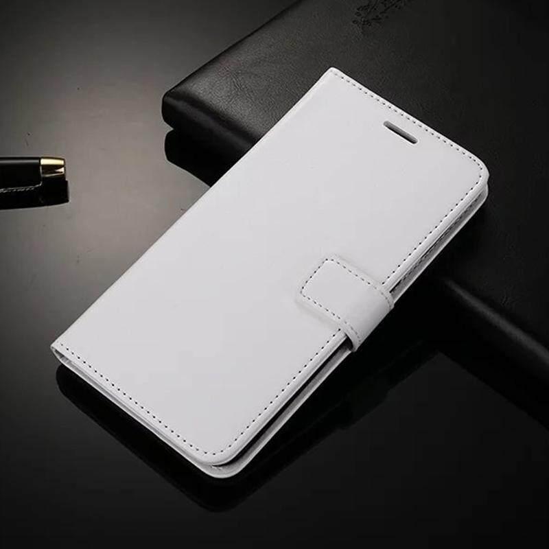 Dompet Case untuk Huawei P8 Lite 2015 Lipat Kulit Sarung Mewah Bisnis dengan Penyangga Telepon Case untuk Huawei P8 Lite 2015 Case Sarung-Internasional