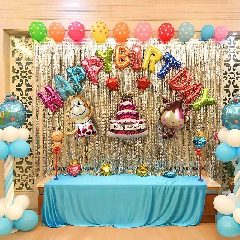 ... Wang Wang tim Balon udara set Petpet Tahun ulang tahun dekorasi Dinding Latar Belakang dekorasi anak ...