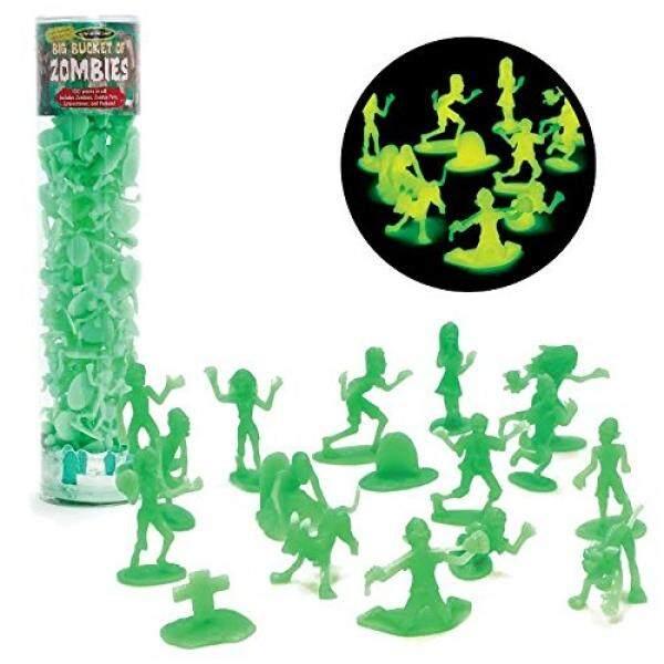 Zombie Boneka Tokoh-Ember Besar dari 100 Menyala Dalam Gelap Zombie-Termasuk Zombie,