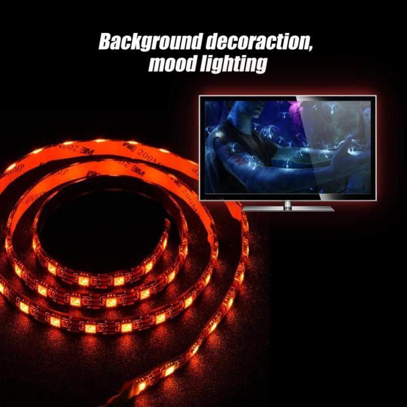 Bảng giá Waterproof USB Strip Light RGB Soft Background Backlight for Computer TV(1m) - intl Phong Vũ