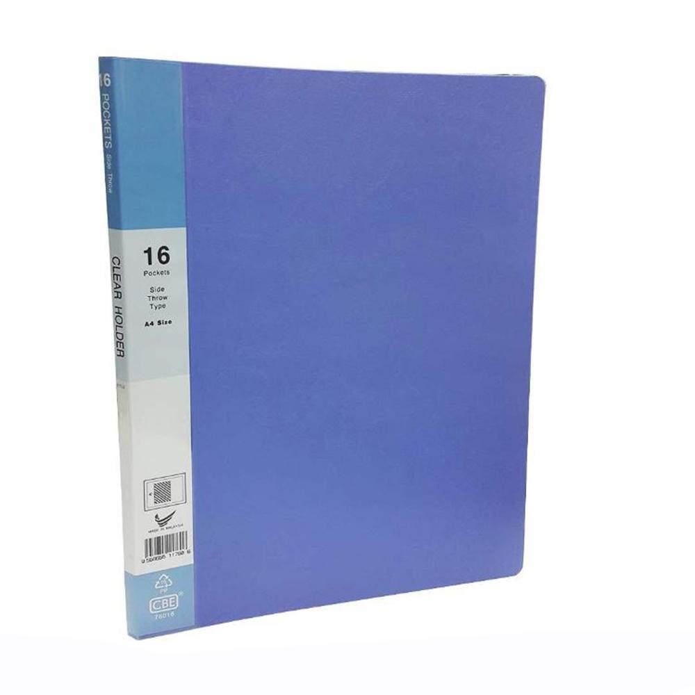CBE Basal Colour Clear Holder 76030 BLUE ( ITEM NO : B10 60 BL )