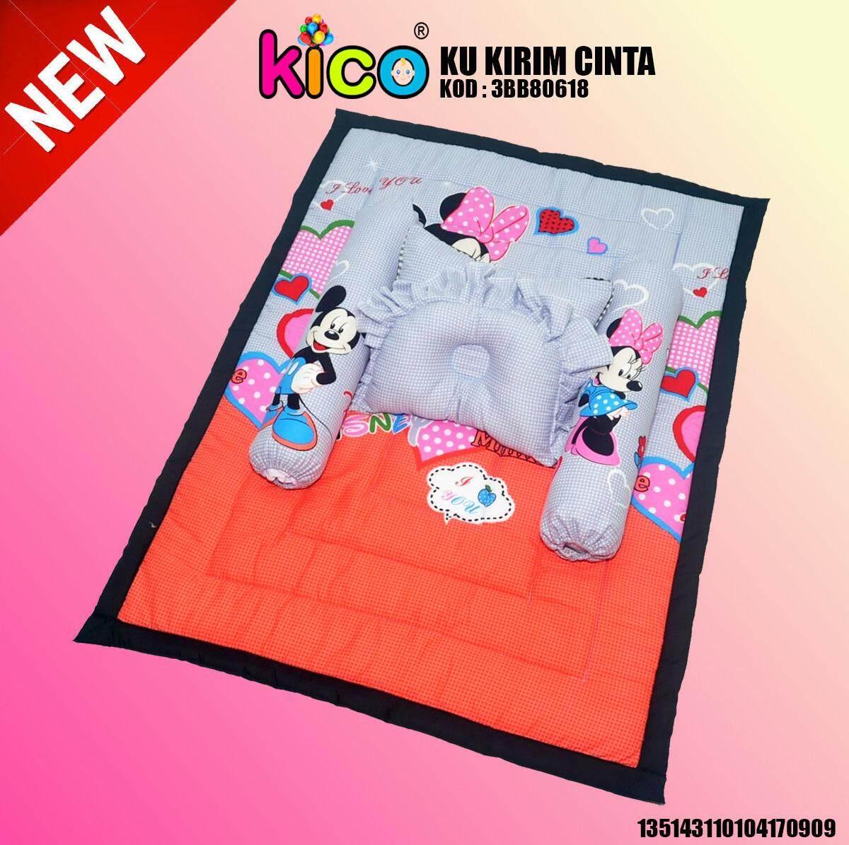 KICO Set Tilam Bantal Bayi Kekabu Asli By KICO