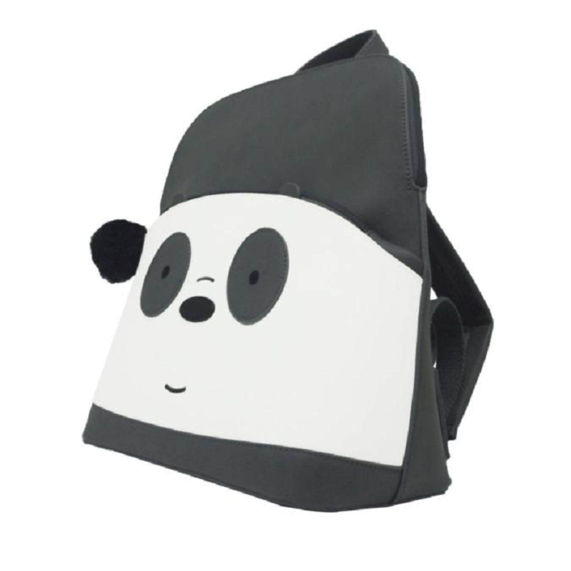 We Bare Bears Backpack School Bag 12.5 Inches - Panda