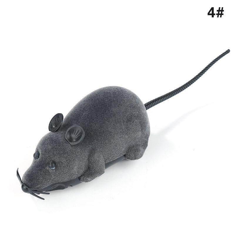 Moyaa Nirkabel RC Kendali Jarak Jauh Elektronik Tikus Mainan Tikus untuk Anak Anjing Kucing Hadiah-