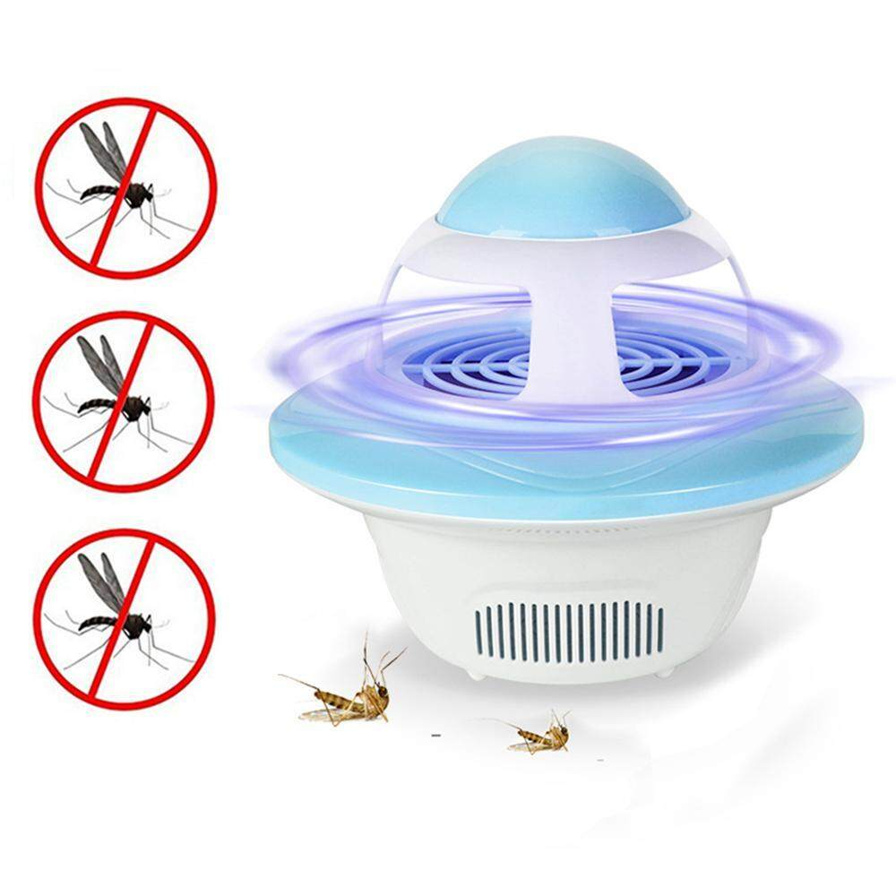 Umiwe New type UFO Mosquito killer lamp USB Photocatalyst Mosquito Repellent Bug Insect Trap light UV Light Killing Trap Fly Repeller - intl
