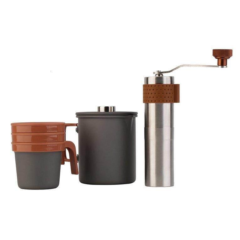 OUTAD 20fl.oz pembuat kopi Perancis Tekan kopi Manual Grinder membuat