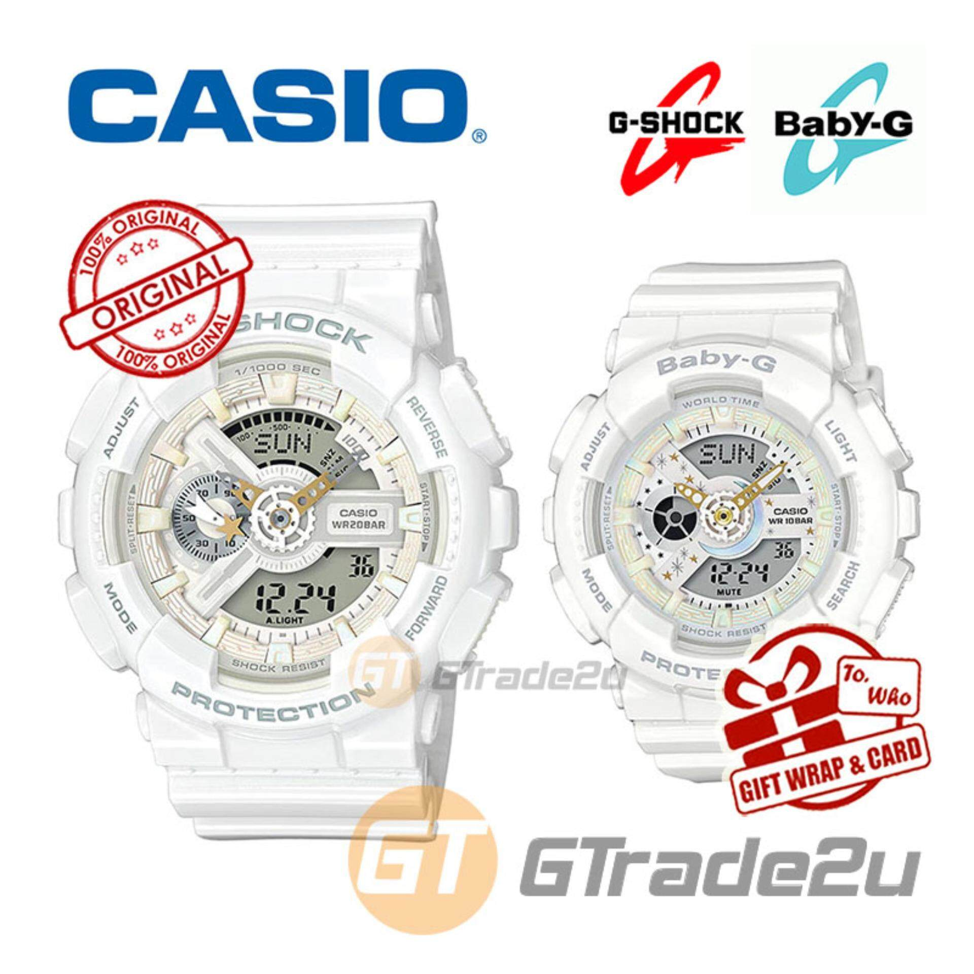 Features Baby G Shock Couple Watches Ba112 7a Ga110ac Dan Casio Ba 112 Lov 17a Watch Lover Limited