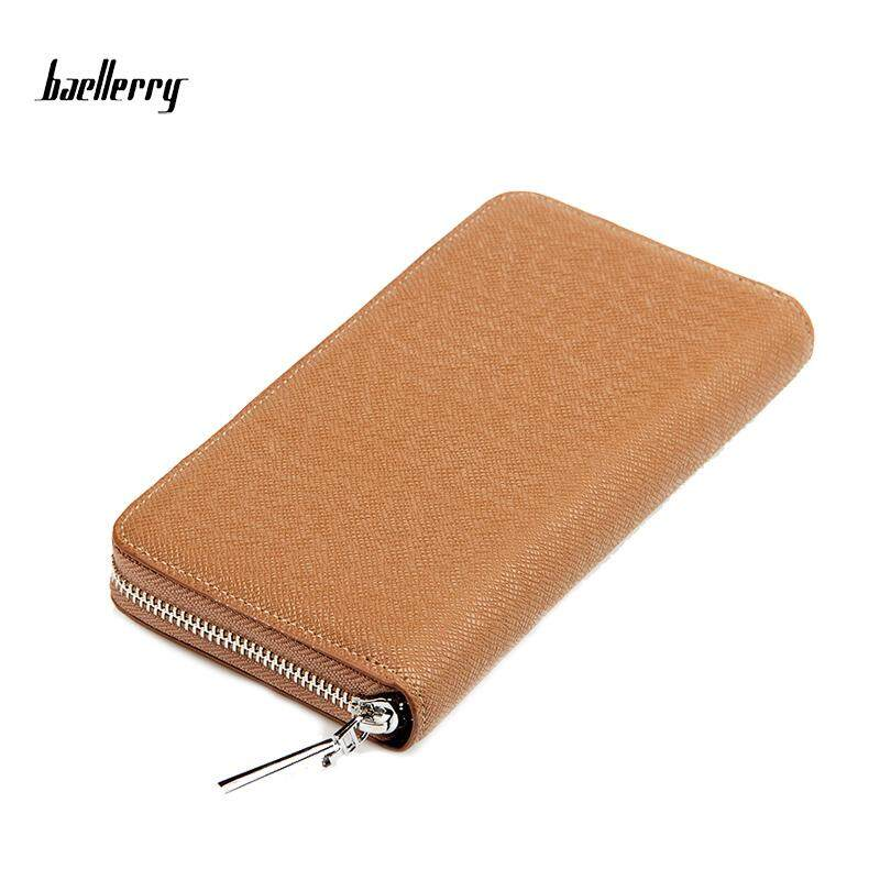 Baellerry WLT-129 ZX-1392 Casual Long Leather Men Wallet