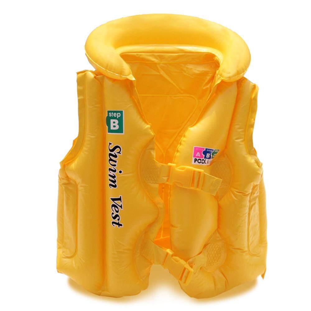 Anak Pelampung Keselamatan Inflatable Rompi Renang Jaket Keselamatan Anak Keselamatan Berenang Mengambang Baju Renang Santai Rompi