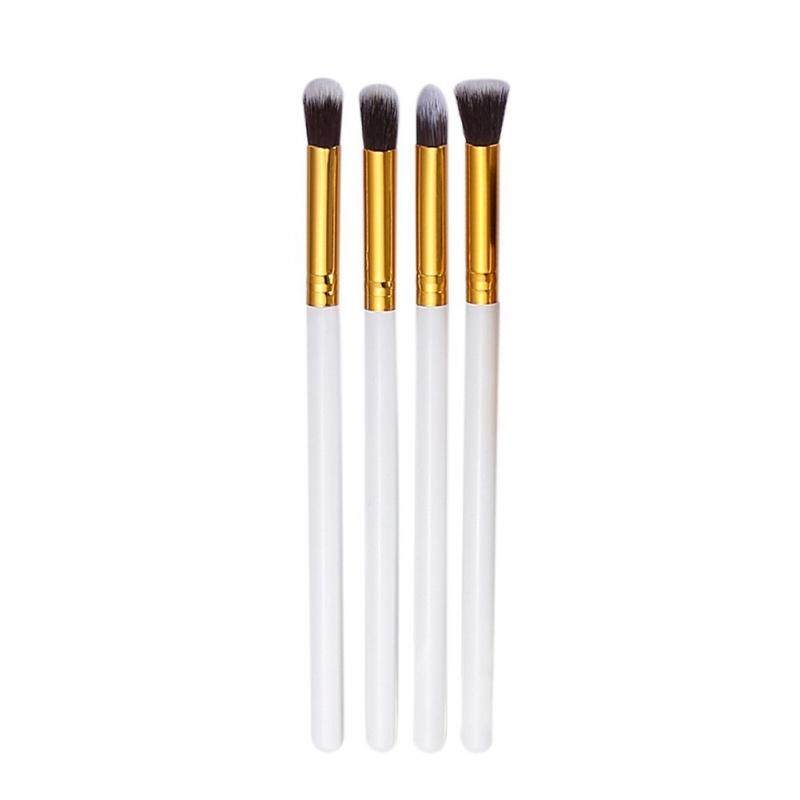 4 PCS Pro Cosmetic Makeup Tool Eye Shadow Foundation Blending Eyeshadow Brush - intl Philippines