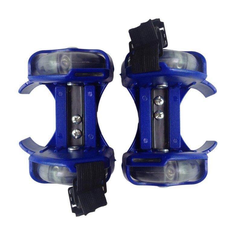 LIFEF 3 Màu Ánh Sáng Nhỏ Cơn Lốc Ròng Rọc Có Thể Điều Chỉnh Đèn Bánh Xe Trượt Băng Giày
