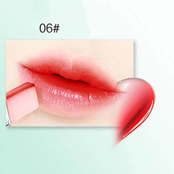 LIPHOP Brand Double Gradient Lipstick 8 Colors Lip Stick Lips Makeup Two Colors Tint Lip Stick Waterproof Lip balm Pigment Batom(1PC Color: 06#)