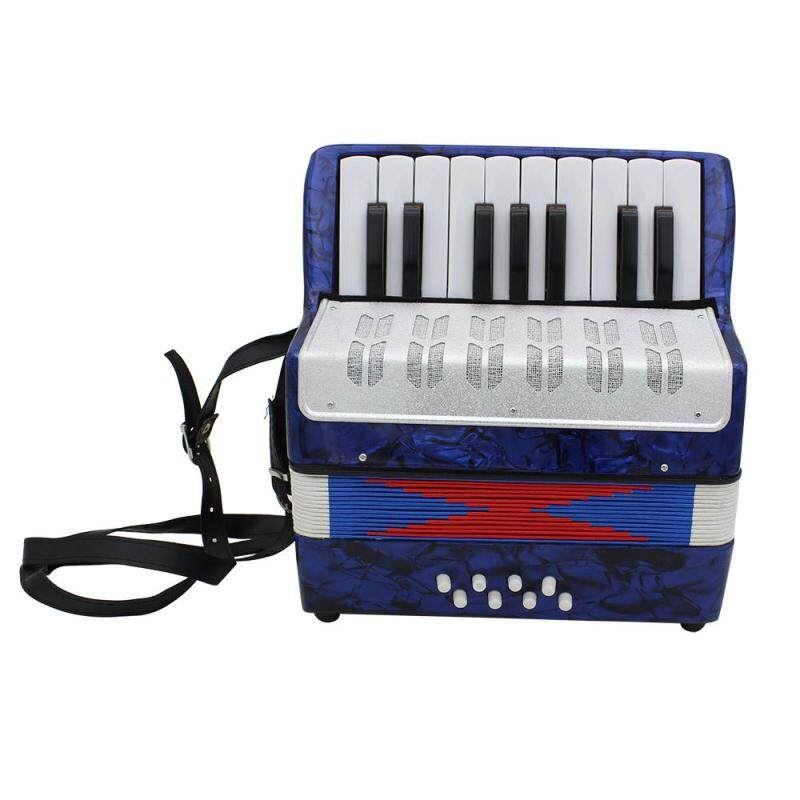 North Star 17 Key Professional Mini Accordion Educational Musical Instrument for Both Kids Adult
