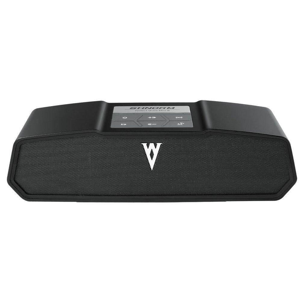4.0 Speaker nirkabel 3D suara Stereo Bass Lossless efek 5200mAh hitam UK Plug .