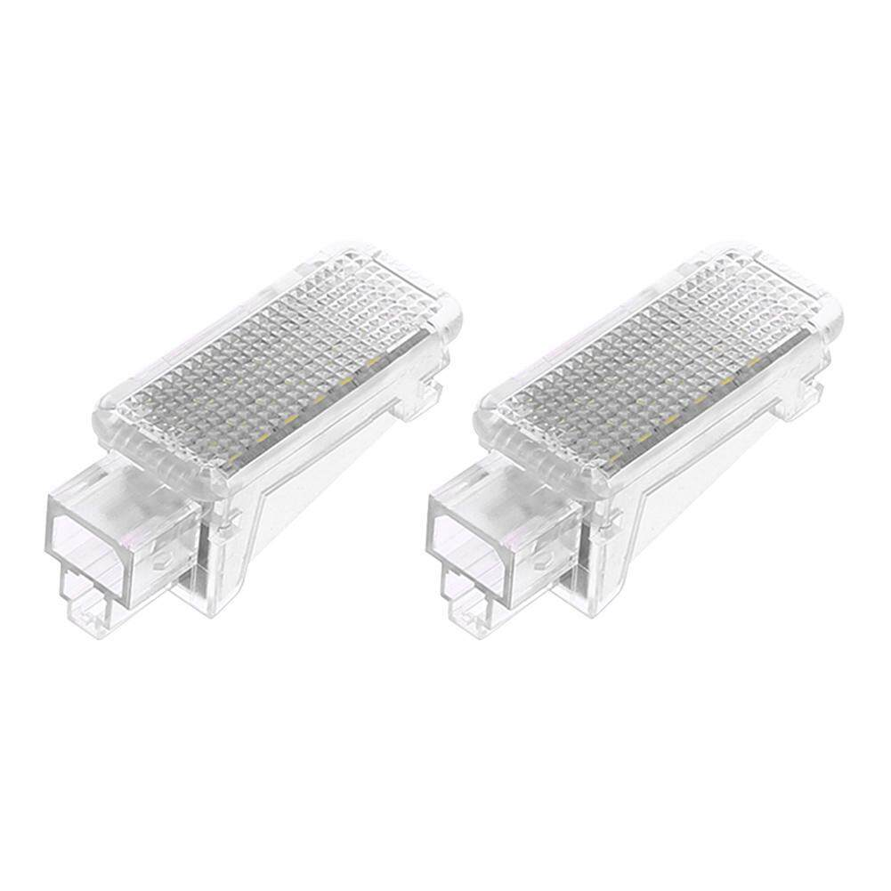 1 Pair LED Foot Courtesy Lights for Audi A2 A3 A4 Q5.Q7 S5 VW Beetle Bora - intl