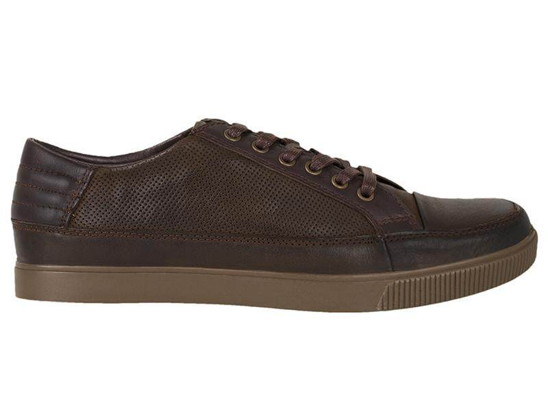 Tomaz C279 Leather Perforated Sneakers
