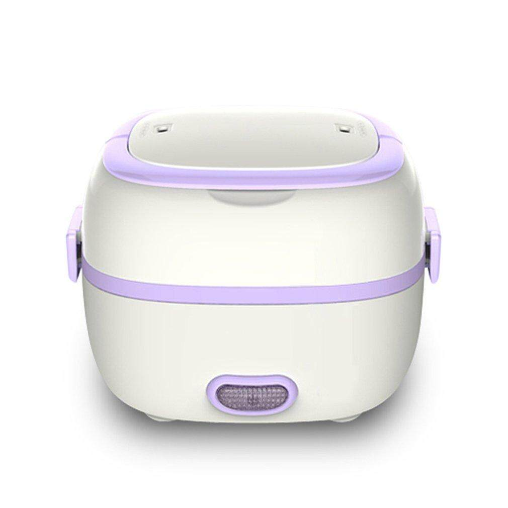 Hình ảnh Multifunctional Electric Lunch Box Mini Rice Cooker Portable Food Steamer