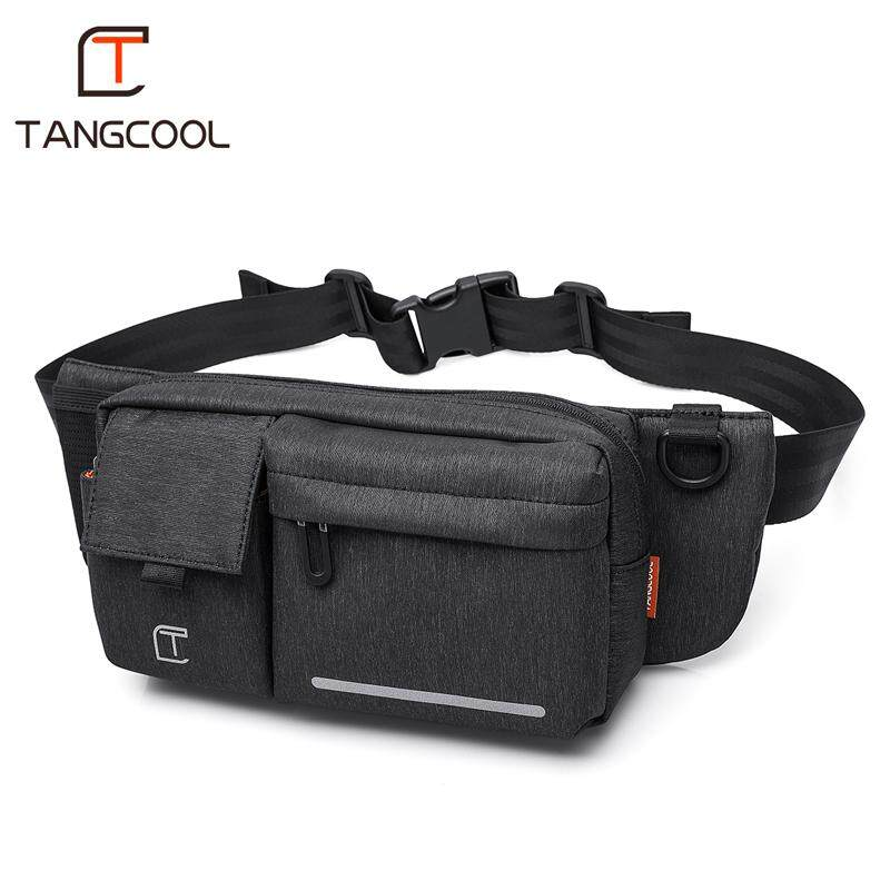 Tactical Waist Pack Cross Body Bag Military Waterproof Fanny Packs Bag Pouch For Hiking Climbing Outdoor black Camping & Hiking