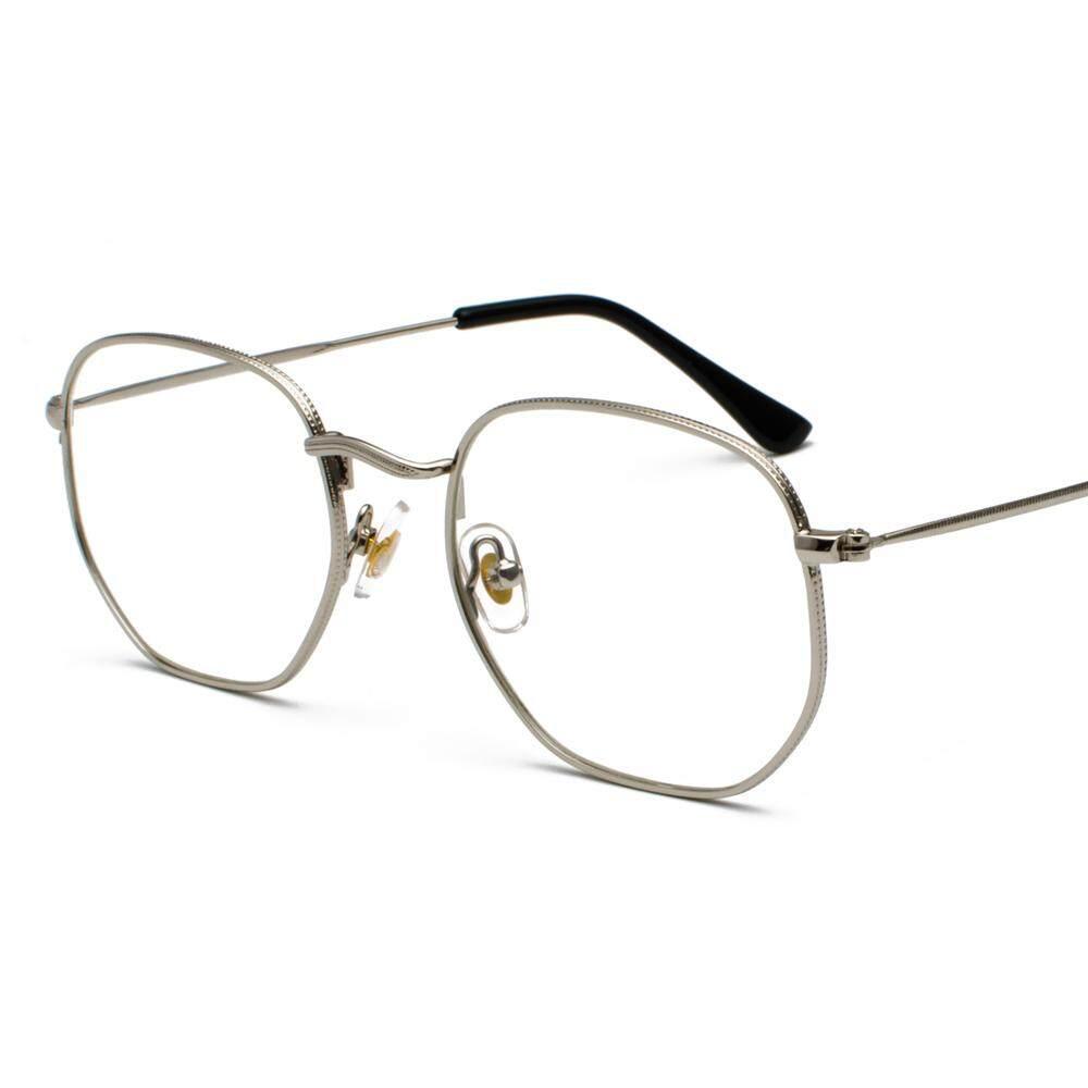 c3f6fd81cd Gold Metal Frame Eyeglasses Square Frame Male 2019 Clear Lens Eye Glasses  Frames for Women Small