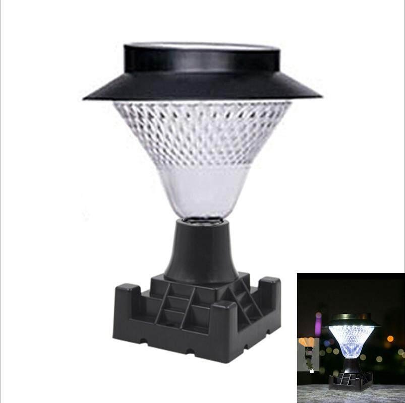 Star Mall 16 LED Outdoor Garden Path Landscape Fence Yard Pillar Lamp Solar Powered LED Light