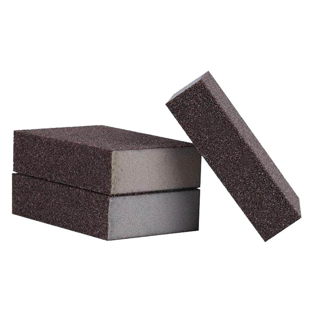MagiDeal Double-sided Sponge Sandpaper 60-600# Grinding Polishing Abrasive Paper 120