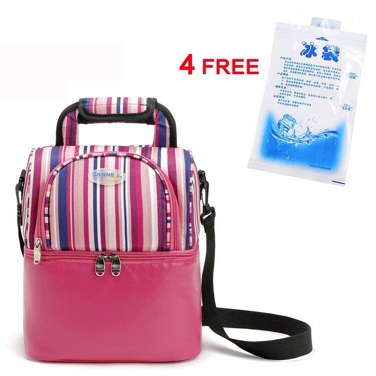 Insulated Cooler Double Layer Lunch Bag Thermal Tmilk Baby