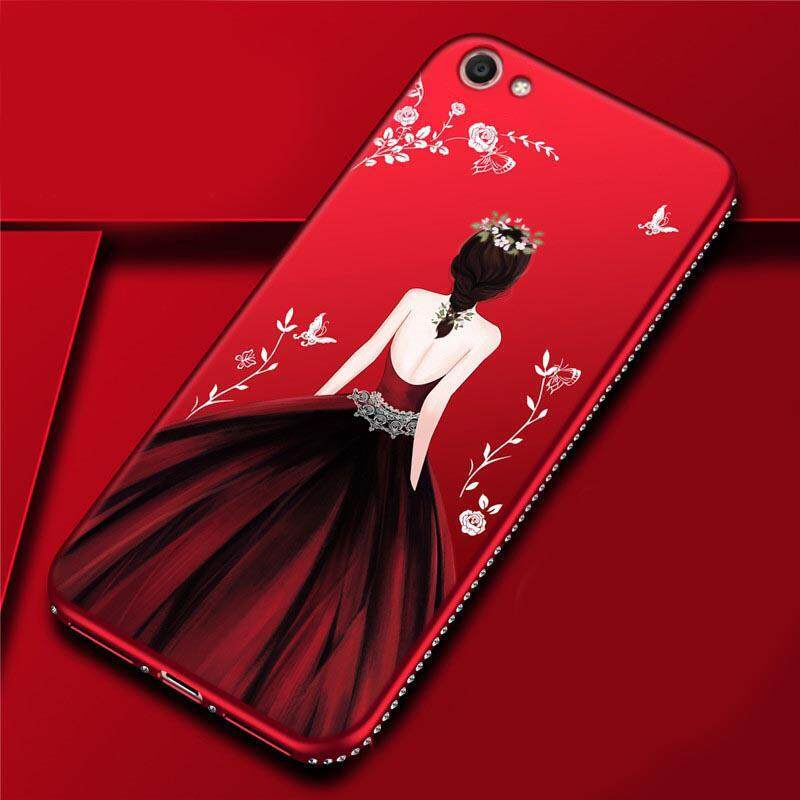For Oppo A31 Neo5 Case Goddess Beauty Girl Silhouette Diamond Coloured Drawing Back Cover A33 Neo7 Secret Garden Glitter Fashion TPU Silicone Phone Case for ...