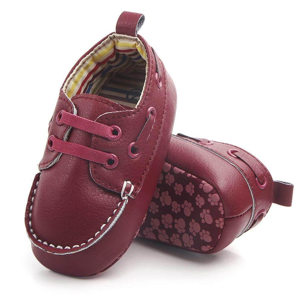Cocol Max Bayi Bayi Baru Lahir Double Kulit Bersol Lembut Tunggal Sepatu Datar Kasual Sepatu By Cocolmax.