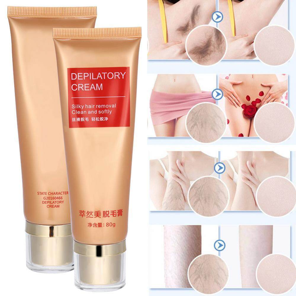Men Women Hair Removal Cream Armpit Legs Pubic Underarm Body Health Beauty Depilatory Paste By Rongshida.